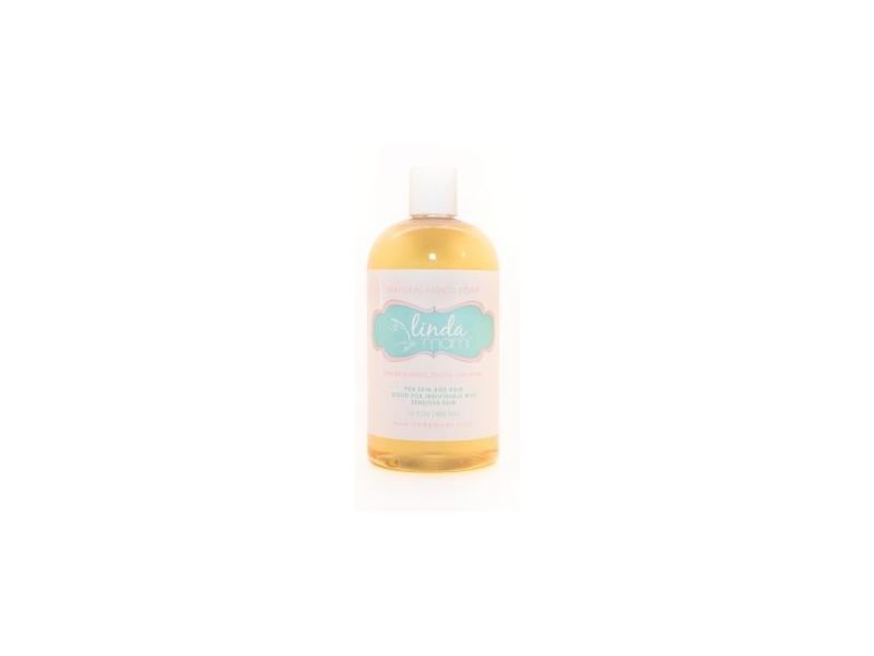 Linda Mami Natural Liquid Soap, 16 fl oz