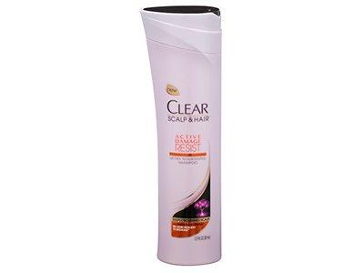 Clear Scalp Hair Active Damage Resist Ultra Nourishing Shampoo