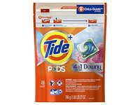Tide Pods Plus 4-in-1 Downy Laundry Detergent Pacs, April Fresh, 26 ct - Image 2