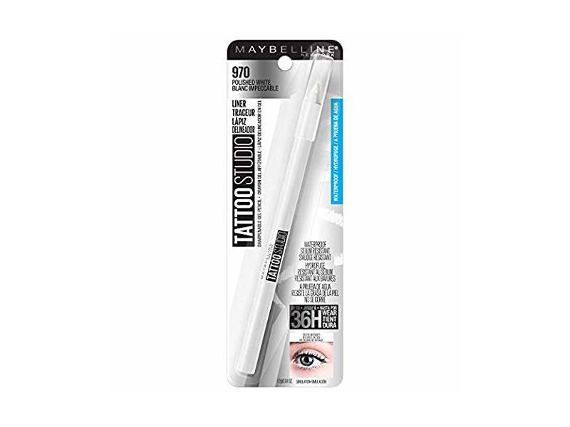 Tattoostudio Waterproof Eyeliner Gel Pencil, 970 Polished White