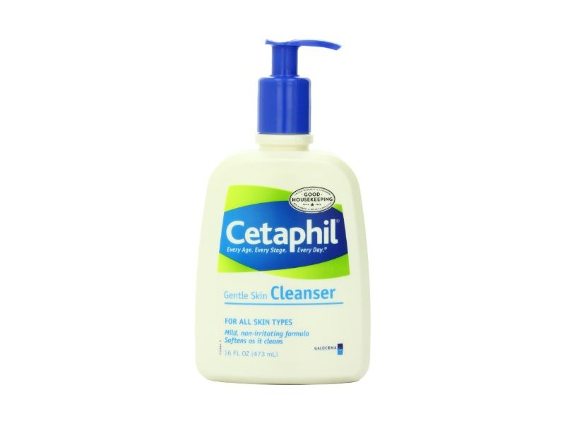 Cetaphil Gentle Skin Cleanser, For All Skin Types, 16 Ounce Bottles (Pack of 3)