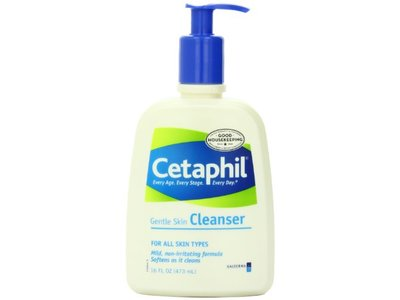 Cetaphil Gentle Skin Cleanser, For All Skin Types, 16 Ounce Bottles (Pack of 3) - Image 1