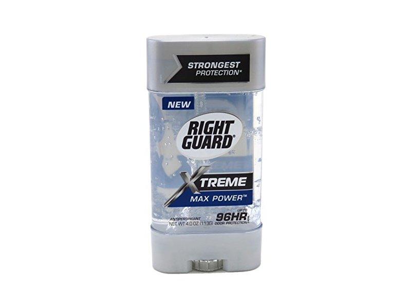 Right Guard Xtreme Gel, Max Power, 4 oz