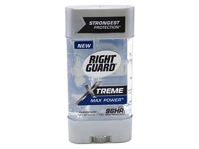 Right Guard Xtreme Gel, Max Power, 4 oz