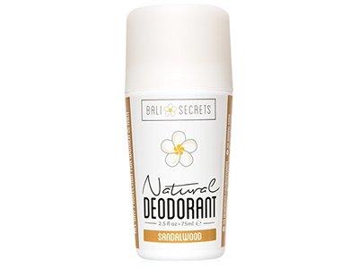 Bali Secrets Natural Deodorant Sandalwood 2.5 fl.oz/75ml