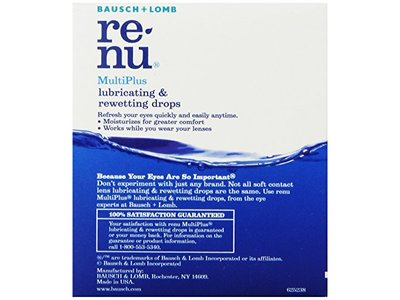 Bausch & Lomb ReNu MultiPlus Lubricating & Rewetting Drops, 0.27-Ounce - Image 5
