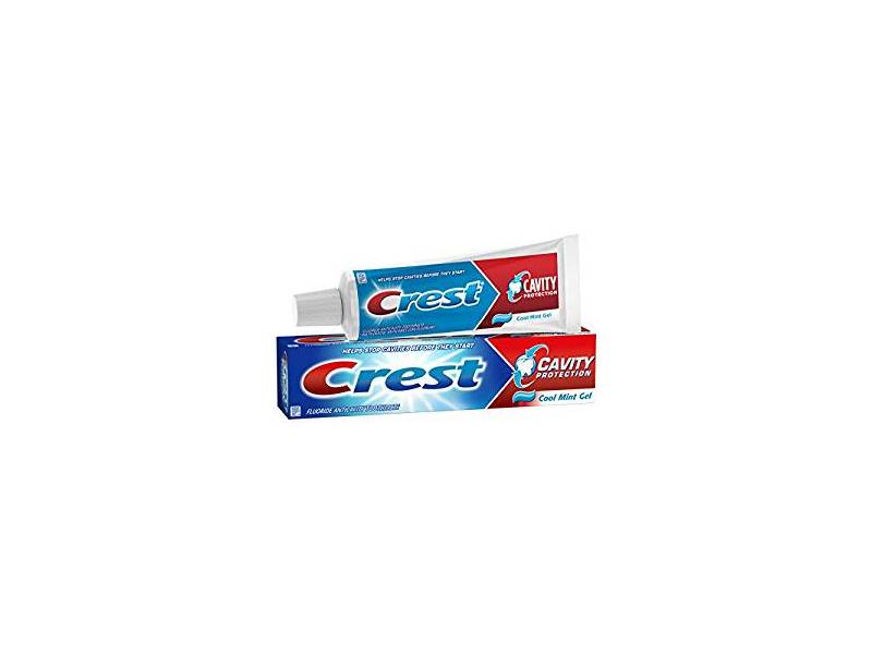Crest Cavity Protection Toothpaste Gel, Cool Mint, 8.2 oz
