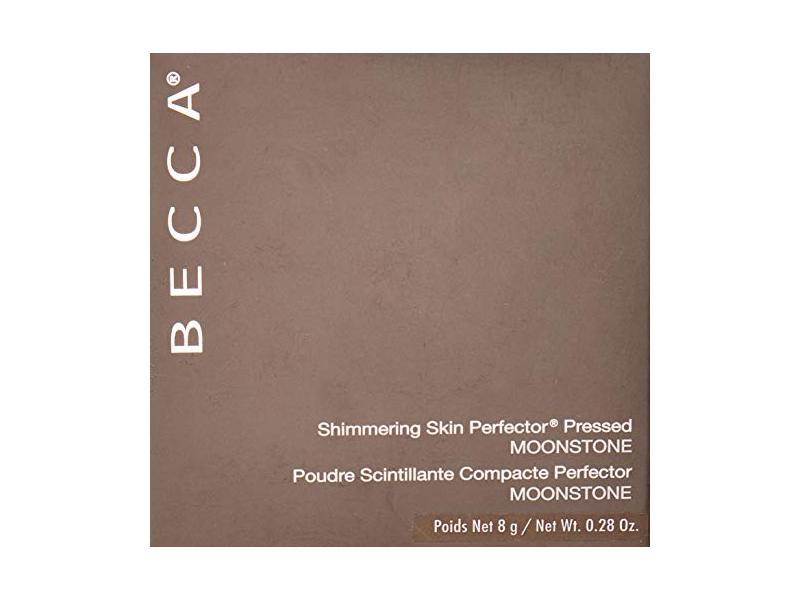 Becca Shimmering Skin Perfector Pressed Highlighter, Moonstone, 8 g/0.28 oz