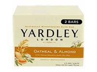 Yardley London Oatmeal & Almond Moisturizing Bath Bar, 4.25 oz - Image 2