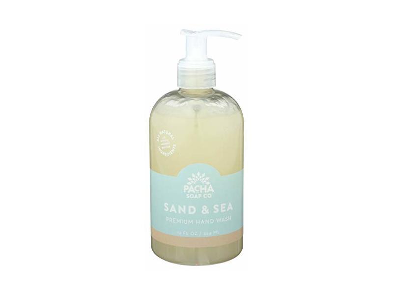 Pacha Soap Hand Wash Premium Sand And Sea, 12 Fl Oz