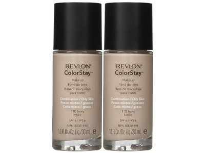 Revlon Colorstay Makeup For Combination or Oily Skin - Ivory - 2 pk