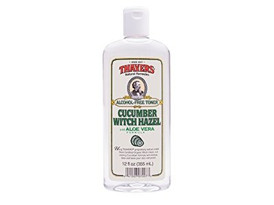 Thayer Cucumber Witch Hazel with Aloe Vera Formula, 12 Fluid Ounce