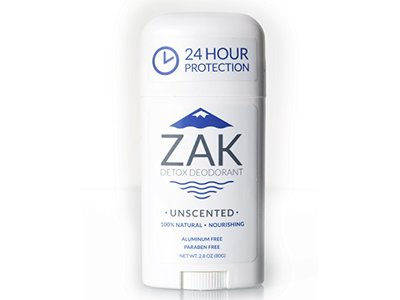 Fragrance Free All Natural Deodorant by Zak Detox Deodorant