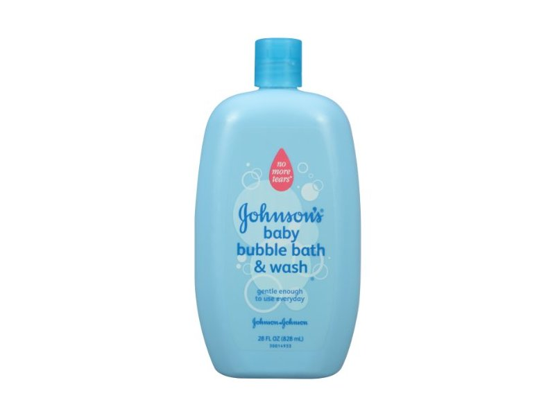 Johnson's Baby Bubble Bath and Wash, 28 fl oz