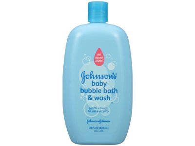 Johnson's Baby Bubble Bath and Wash, 28 fl oz - Image 1