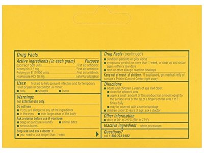 Neosporin First Aid Antibiotic Ointment Maximum Strength Pain Relief, 1-Ounce - Image 3