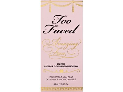 Too Faced Amazing Face Oil-free Close-up Coverage Foundation - Vanilla Creme, Too Faced Cosmetics - Image 4