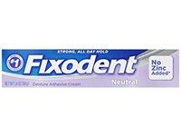 Fixodent Denture Adhesive Cream, Neutral, 2.4 oz - Image 2