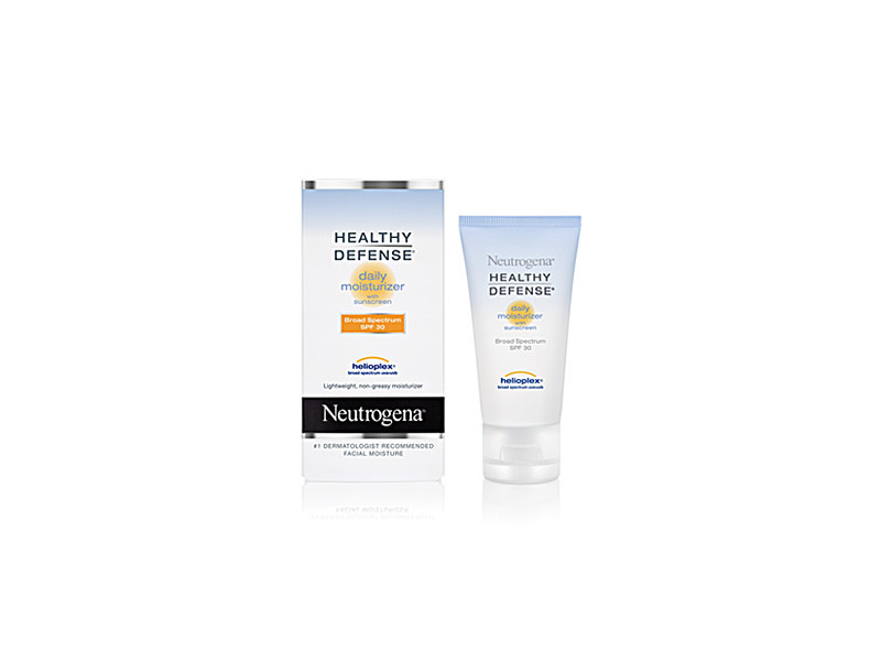 Neutrogena Healthy Defense Daily Moisturizer With Sunscreen Broad Spectrum SPF 30, Johnson & Johnson