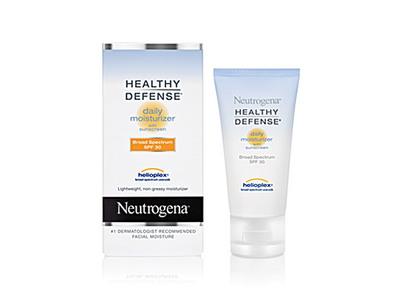 Neutrogena Healthy Defense Daily Moisturizer With Sunscreen Broad Spectrum SPF 30, Johnson & Johnson - Image 1