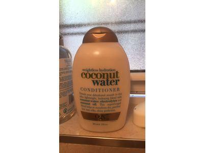 OGX Weightless Hydration+Coconut Water Conditioner, 13 fl oz - Image 3