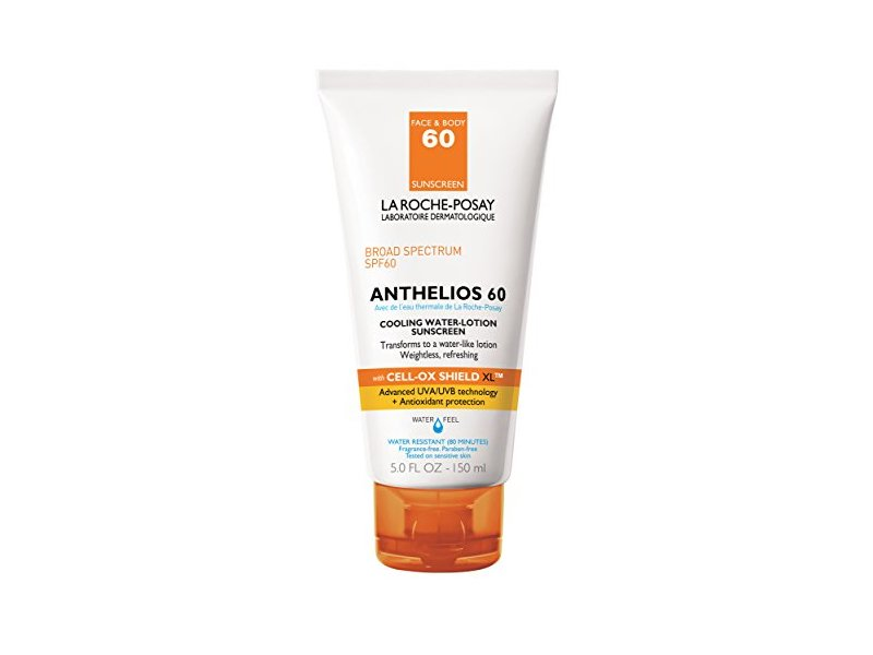 La Roche-Posay Anthelios 60 Cooling Water-Lotion Sunscreen, SPF 60, 5.0 fl oz