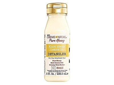 Creme Of Nature Pure Honey Detangler Leave-In, 8 oz