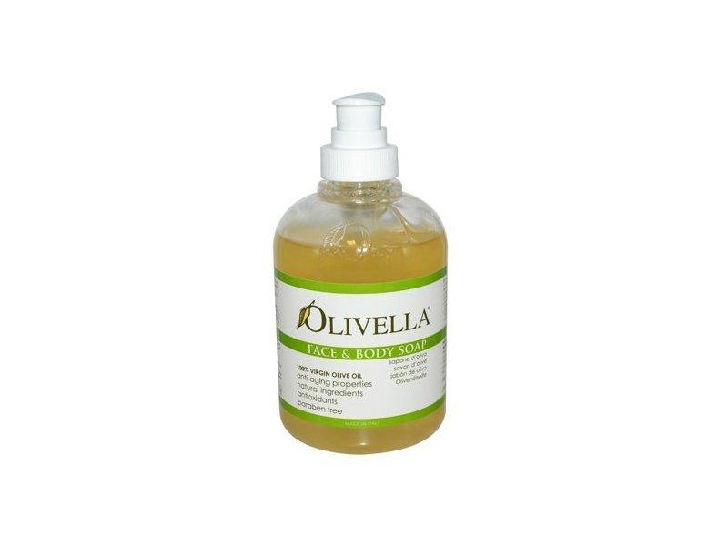 Olivella Face & Body Soap, 10.14 fl oz