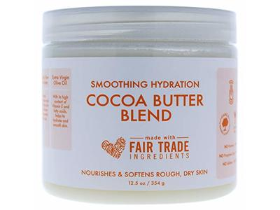 SheaMoisture Smoothing Hydration Cocoa Butter Blend, 12.5 oz - Image 1