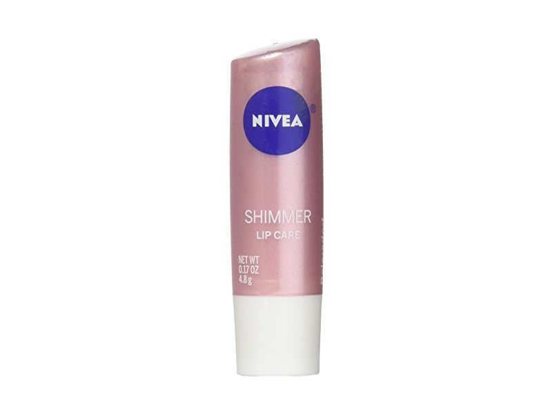 Nivea Radiant Lip Care, Kiss of Shimmer, 0.17 oz (Pack of 4)