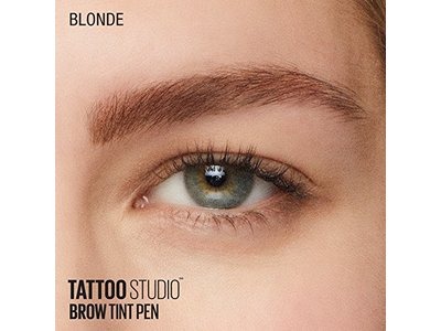 Maybelline TattooStudio Brow Tint Pen Makeup, Soft Brown, 0.037 fl. oz. - Image 10