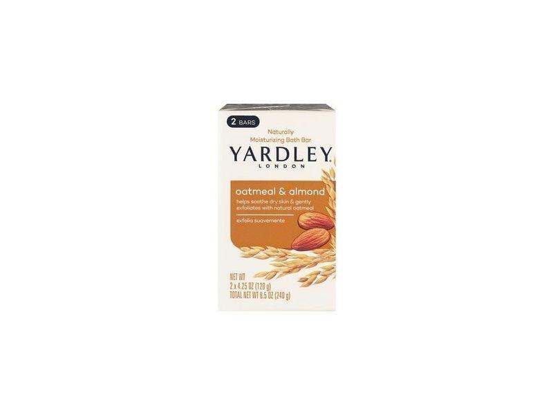 Yardley London Moisturizing Oatmeal and Almond Bath Bar