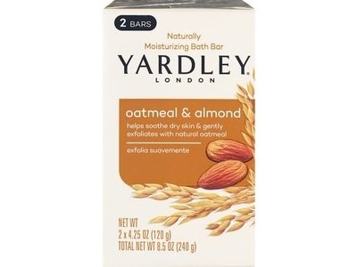Yardley London Moisturizing Oatmeal and Almond Bath Bar