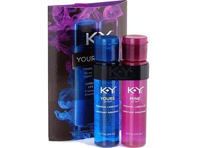 K-Y Yours + Mine Couples Lubricants, Thrills Schills, 3 fl oz / 88 mL