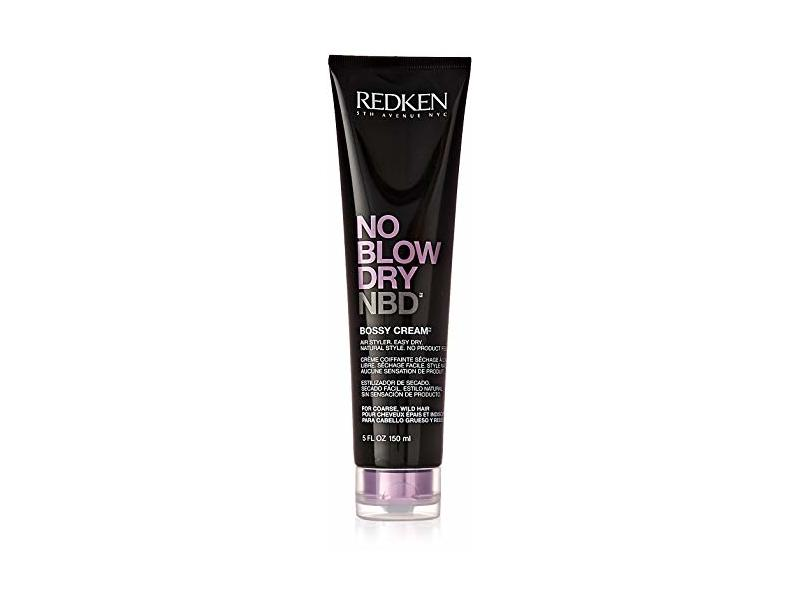 Redken No Blow Dry Bossy Cream Coarse-Wild Hair for Unisex, 5 Ounce