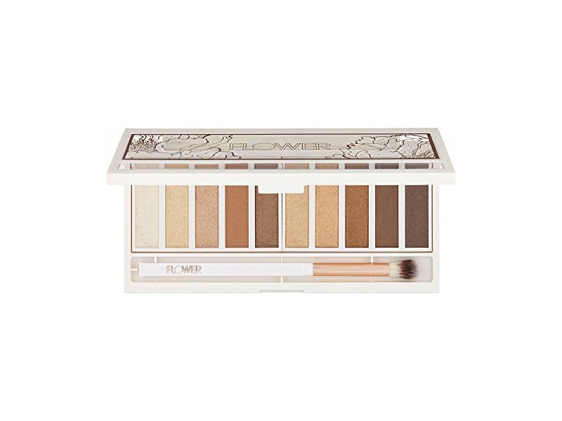Flower Shimmer & Shade Eyeshadow Palette, ES 3 GOLDEN NATURAL