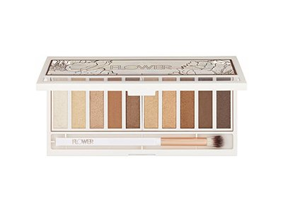Flower Shimmer & Shade Eyeshadow Palette, ES 3 GOLDEN NATURAL