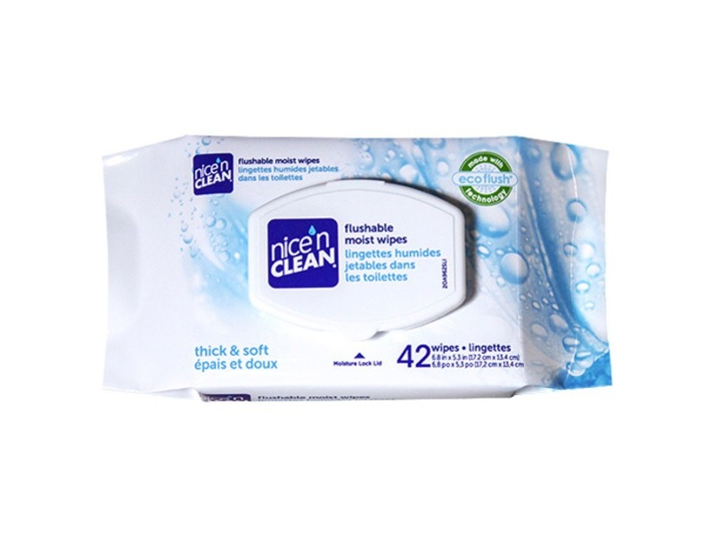Nice 'n Clean Flushable Moist Wipes