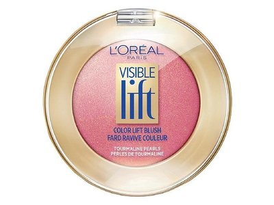 L'Oreal Paris Visible Lift Color Lift Blush, Peach Gold 14oz - Image 1