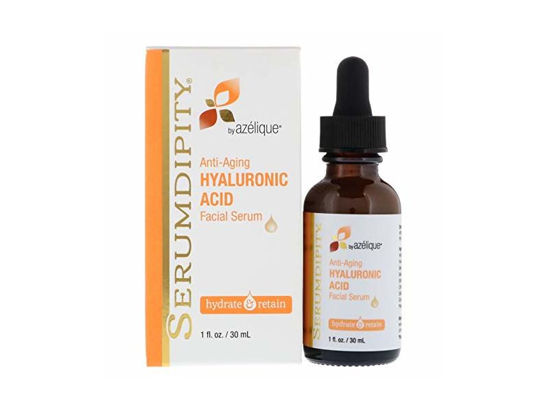 Azelique Serumdipity Anti-Aging Hyaluronic Acid Facial Serum, 1 fl oz