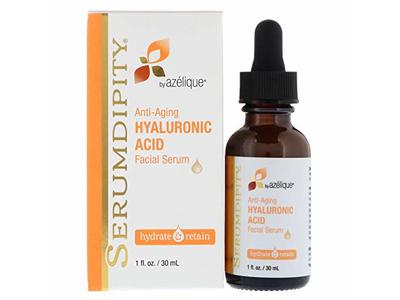 Azelique Serumdipity Anti-Aging Hyaluronic Acid Facial Serum, 1 fl oz