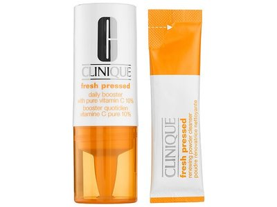 Clinique Fresh Pressed 7-day System with Pure Vitamin C, 1 vial .29 fl oz, 7 packettes 0.01 oz - Image 3