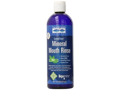 Trace Minerals Research Concentrace Mineral Mouth Rinse, 16 oz