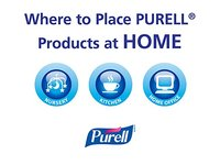 PURELL Advanced Instant Hand Sanitizer with Aloe, 12 oz Bottle - Image 7