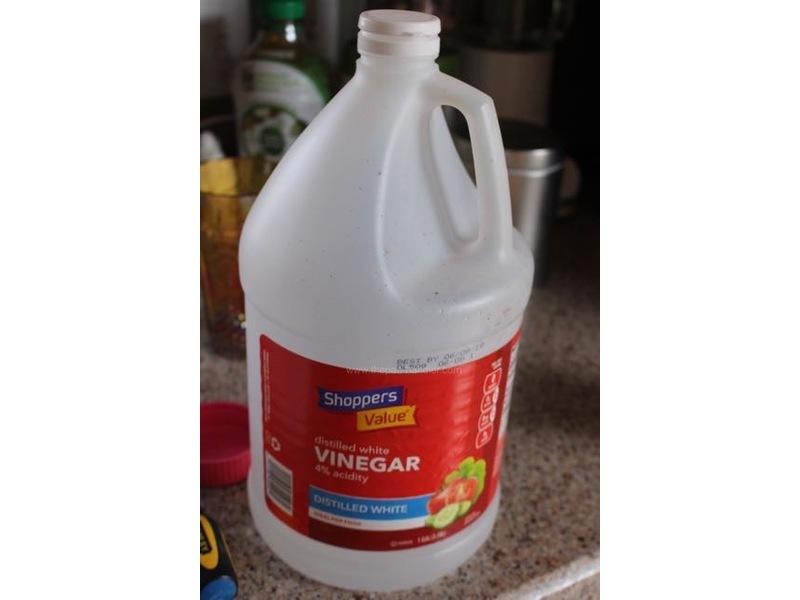 Shoppers Distilled White Vinegar
