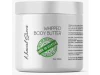 Natural Sisters Whipped Body Butter, UnScented, 8 oz/240 ml - Image 2