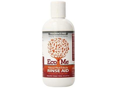 Eco-me Dishwashing Rinse Aid, Fragrance Free, 8 fl oz/237 ml