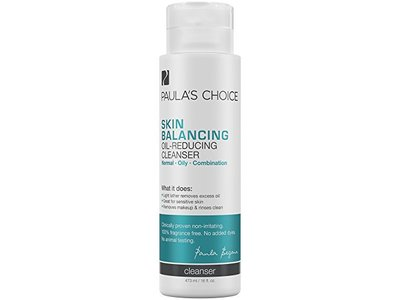 Paula's Choice Skin Balance Oil-Reducing Cleanser-with Ceramides & Aloe, 16 Ounce Bottle - Image 1