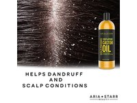 Aria Starr Castor Oil Cold Pressed - 16 FL OZ - Image 4