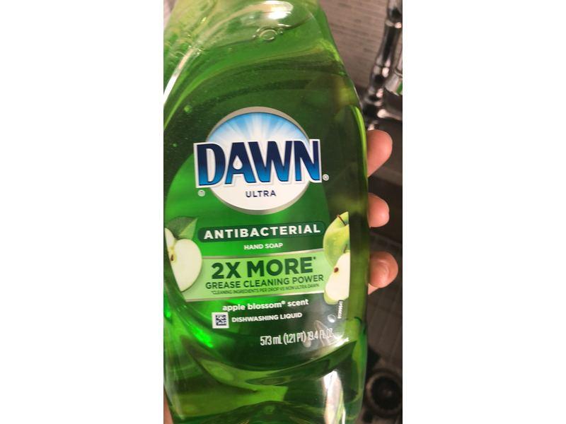 Dawn Ultra Antibacterial Dishwashing Liquid, Apple Blossom, 19.4 fl oz